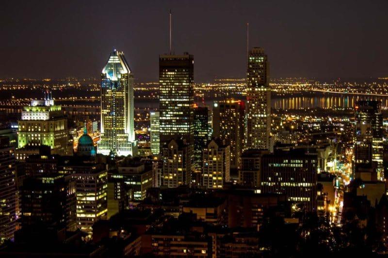 Photographie de Montréal vue du Belvédère