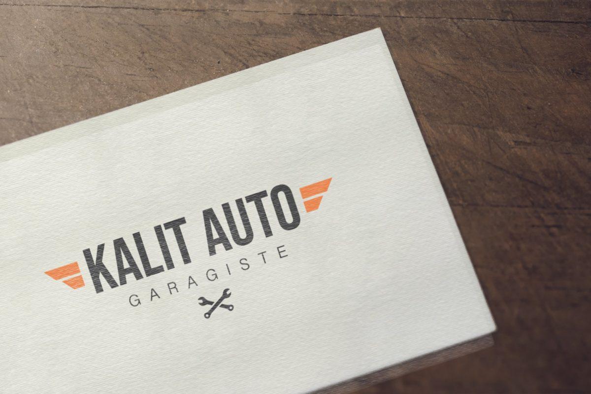 Création de logo pour un garagiste en haute-Savoie (à Annecy) 74