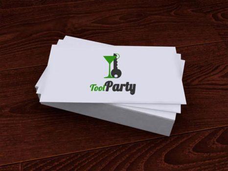 Cartes de visites et logo Tool Party