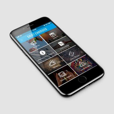 Application mobile Ville Saint Chamond